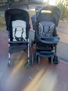 2x baby prams for sale