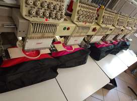 Embroidery and printing services
