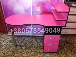 Нежный стол для маникюра - качественный складной маникюрный стол