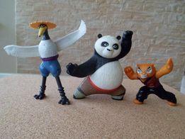 Panda , Tygrysek i Ptak - zestaw figurek,zabawki