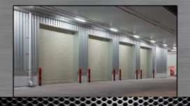Garage door IndustRail Rollur