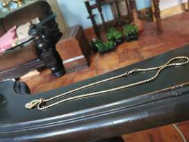 VINTAGE GOLDTONE CHAIN WITH PENDANT