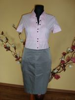 Koszule róż i biała idealne pod żakiet lub garsonkę