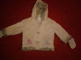 Детская вельветовая курточка