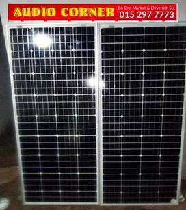 Solar Panels 10w to 300w Available