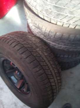Goodyear wrangler Tyres and rims