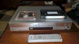 Комбо DVD рекордер Самсунг DVD-VR300E оба проигрывателя пишут