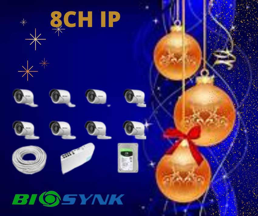 CCTV SYSTEM 8 channel network IP 0