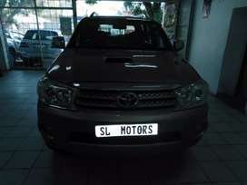 2009 Toyota fortuner 3.0D4D 4x4