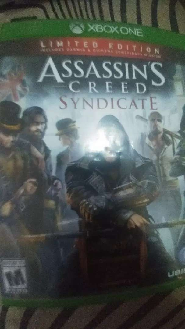 Assassins creed Syndicate Xbox one Game CD 0