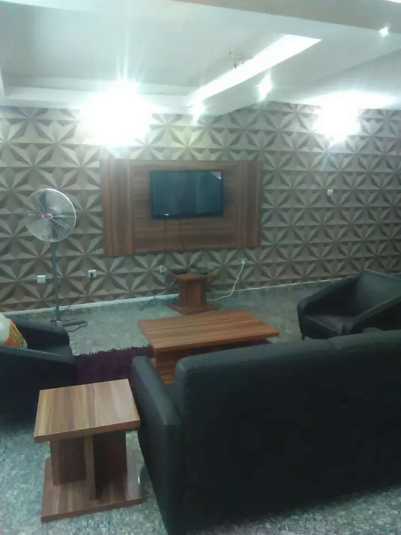 Furnished 2 (Two) Bedrooms In Asokoro For Short Let 0