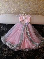 Платье для девочки 5- 7 лет.