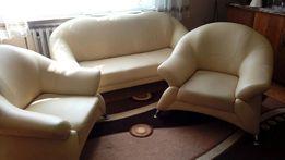 Sofa i fotele skóropodobne