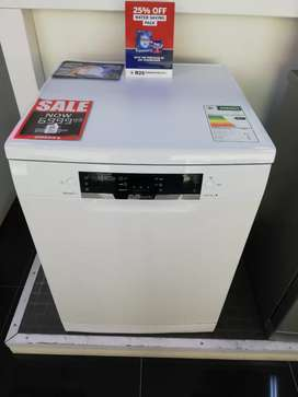 Bosch White Dishwasher