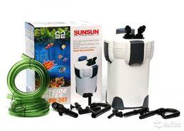 Внешний фильтр для аквариума до 400 л SunSun HW-302 Full НОВЫЙ!