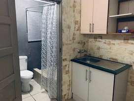 cosmo city ext 10 Outside room with Shower,toilet,sink,cupboard