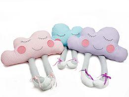 Poduszka CHMURKA z nogami ozdobna dekoracyjna urodzinowy prezent gift