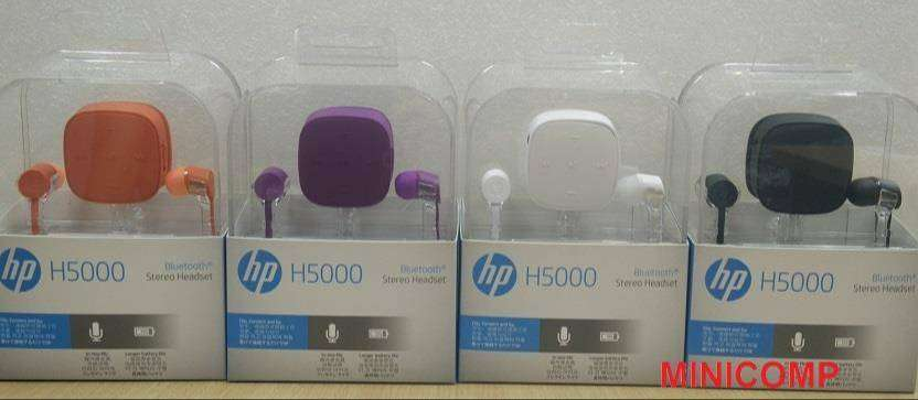 New HP H5000 Stereo Bluetooth Headset 0