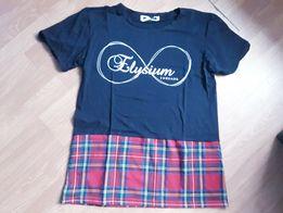 Koszulka unisex kratka oversize tshirt