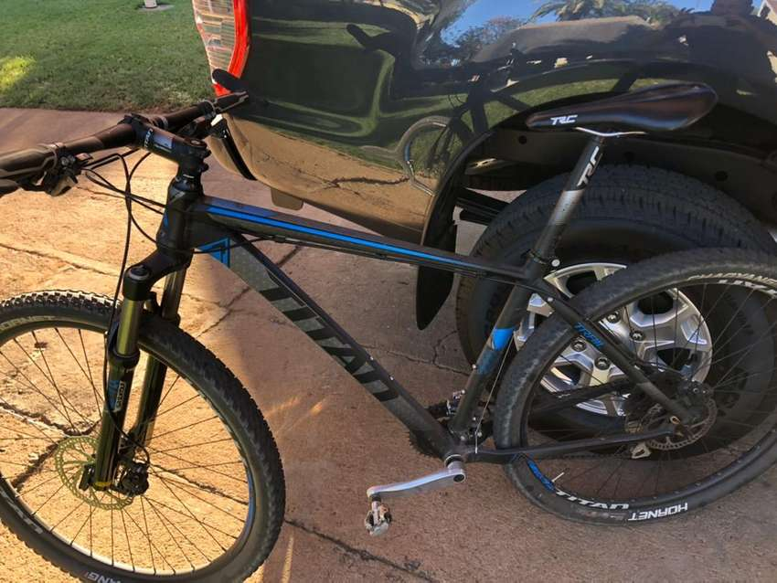 Titan trail mountain bike for sale 0
