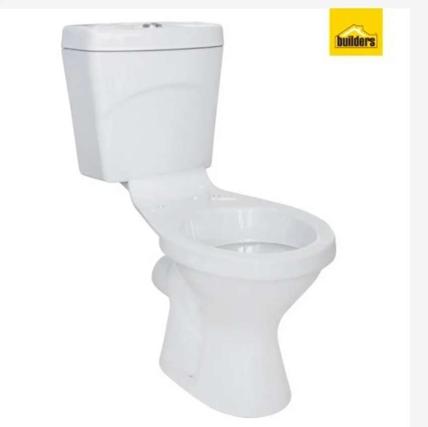 Toilet and basin set 0