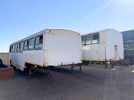PERSONNEL CARRIER TRAILER – 70 SEATER