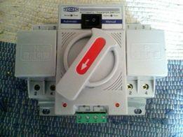 Automatyczny/ręczny przełącznik fazy 63A 240V/50Hz wysyłka gratis NOWY