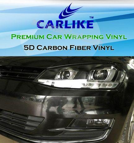 Авто пленка 5D Carbon CARLIKE 180µm под карбон глянцевая карбоновая Черкассы - изображение 6