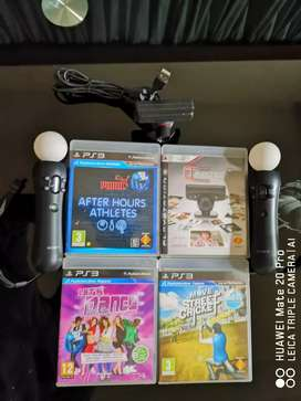 PlayStation 3 Move Accessory Bundle For Sale