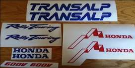 96 Transalp XL 600V decals stickers graphics kits
