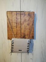 Torebka szara na srebrnym łańcuszku cena z wysyłką