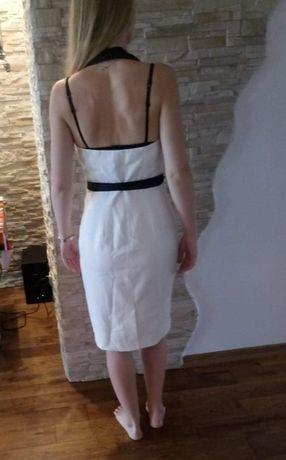 Elegancka czarno-biała sukienka H&M rozm. 38 - nowa! Toruń - image 3