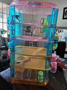 Hamster cage (5 levels)