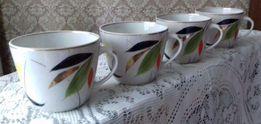 Чашки чайные фарфоровые