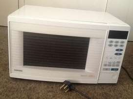 Samsung microwave and grill