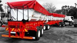 Looking to hire a 34ton side tipper trailer