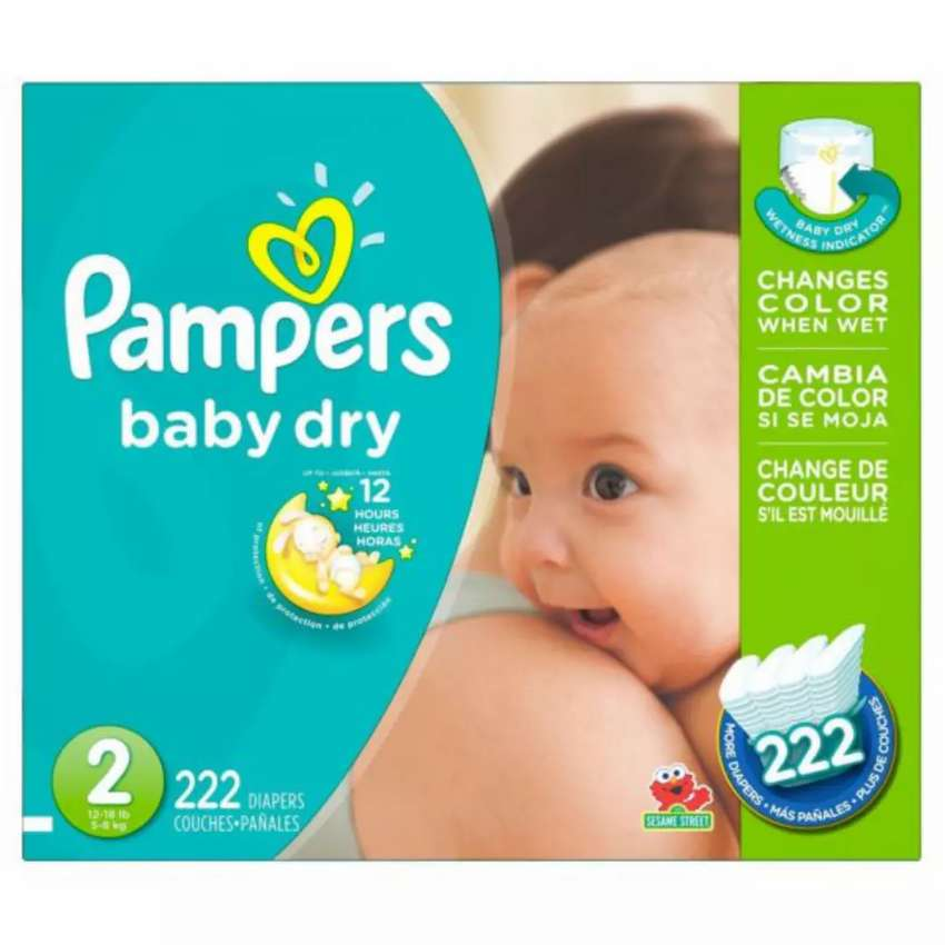 Pampers Baby Dry Diapers 0