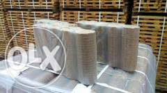 Топливные брикеты 100% ДУБ (евродрова) и пеллеты 6мм