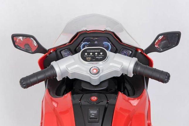 Nowy motor na akumulator, motocykl elektryczny 3 kołowy, niebieski Nowy Dwór Mazowiecki - image 5