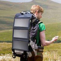 Складная солнечная панель BlitzWolf 20W для смартфонов и павербанков.