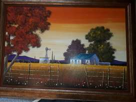 Framed Painting- Theresa Cronje
