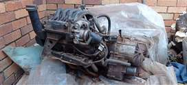Mercedes engine and Gearbox w168 (A160)