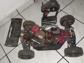 Petrol rc car and truck