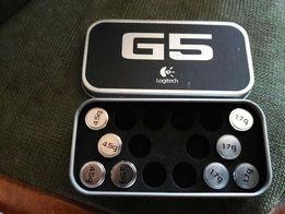 Грузики грузы для игровой мыши, мышки Logitech G5