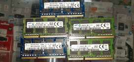 8GB DDR3 laptop rams for sale