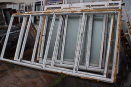 Продам металлопластиковые балконные рамы открывающиеся 4 секции