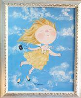 """Копия картины Гапчинской """"Я летаю!"""""""