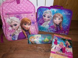 Рюкзак Frozen+папка для альбомів Frozen+пинал Frozen+папка для зошитів