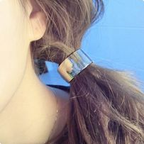 gumka do włosów metalowa