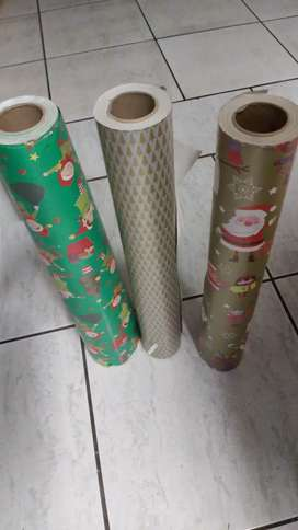 50 m christmas wrapping paper